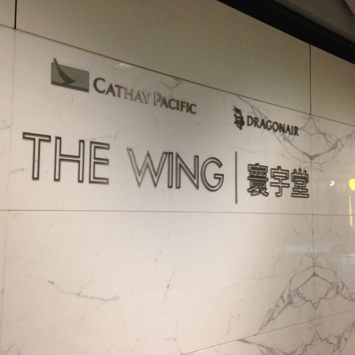The Wing lounge