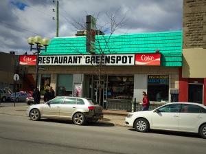 Greenspot Diner Montreal
