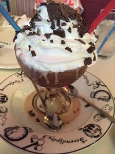 Frrrrrozen hot chocolate