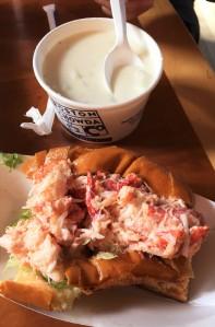 Lobsta roll & claaaam chowda