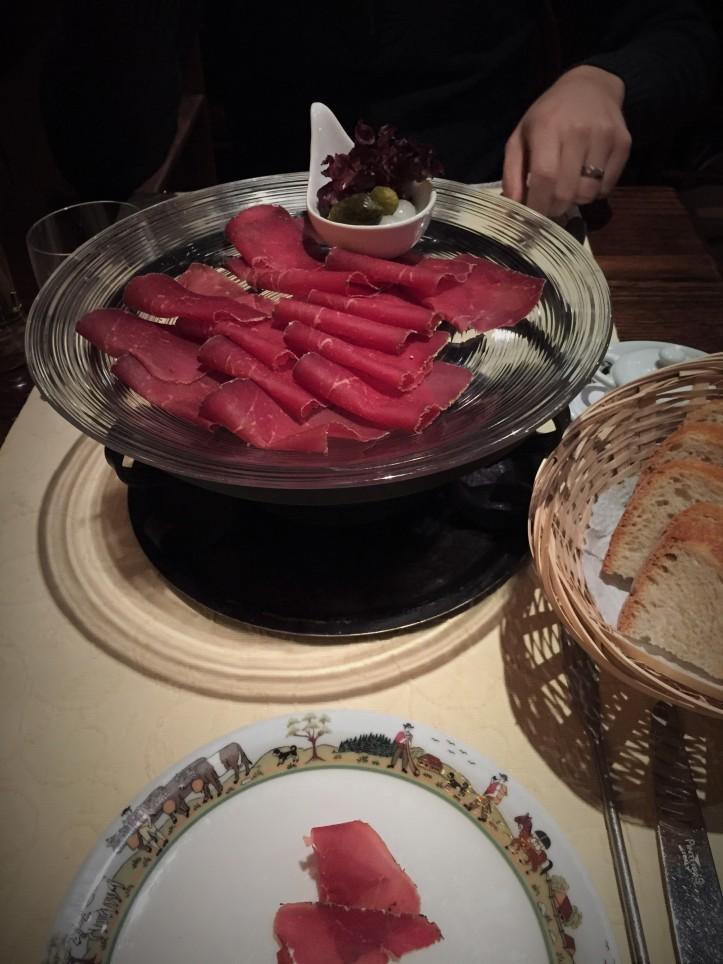 Dinner - meat