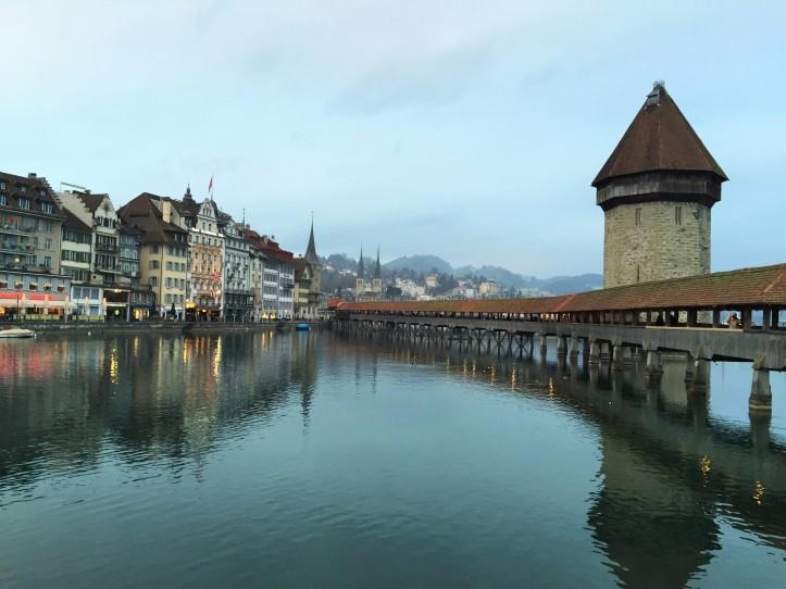 Lucerne bridge day 1 night 2