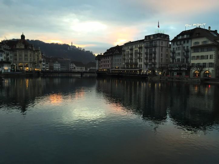 Lucerne bridge day 1 night 3