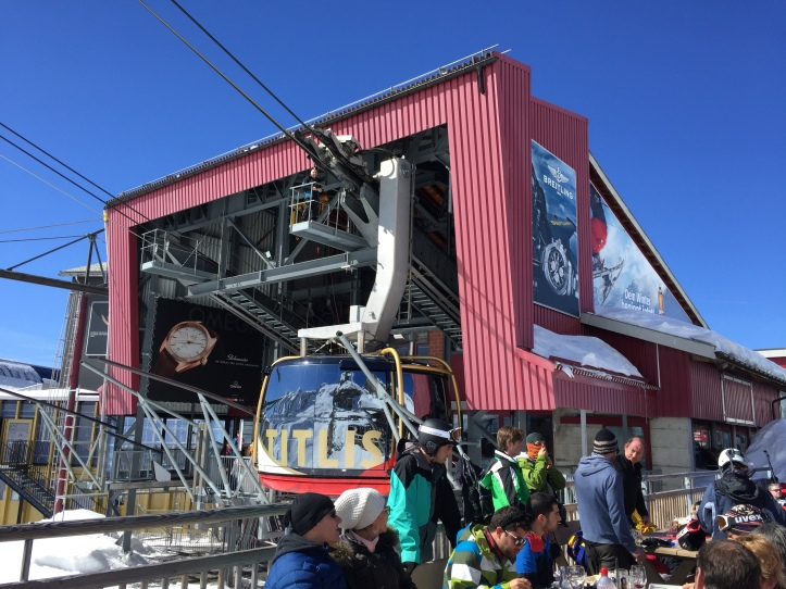 Mt Titlis cable