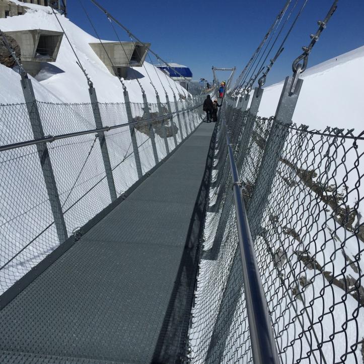 Mt Titlis Cliff walk 1