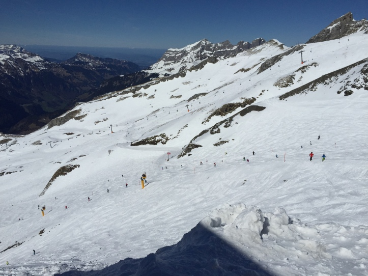 Mt Titlis skiing