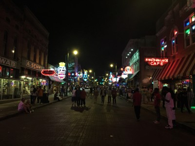 Beale St night 2