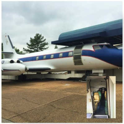 Elvis Tour - Private plane