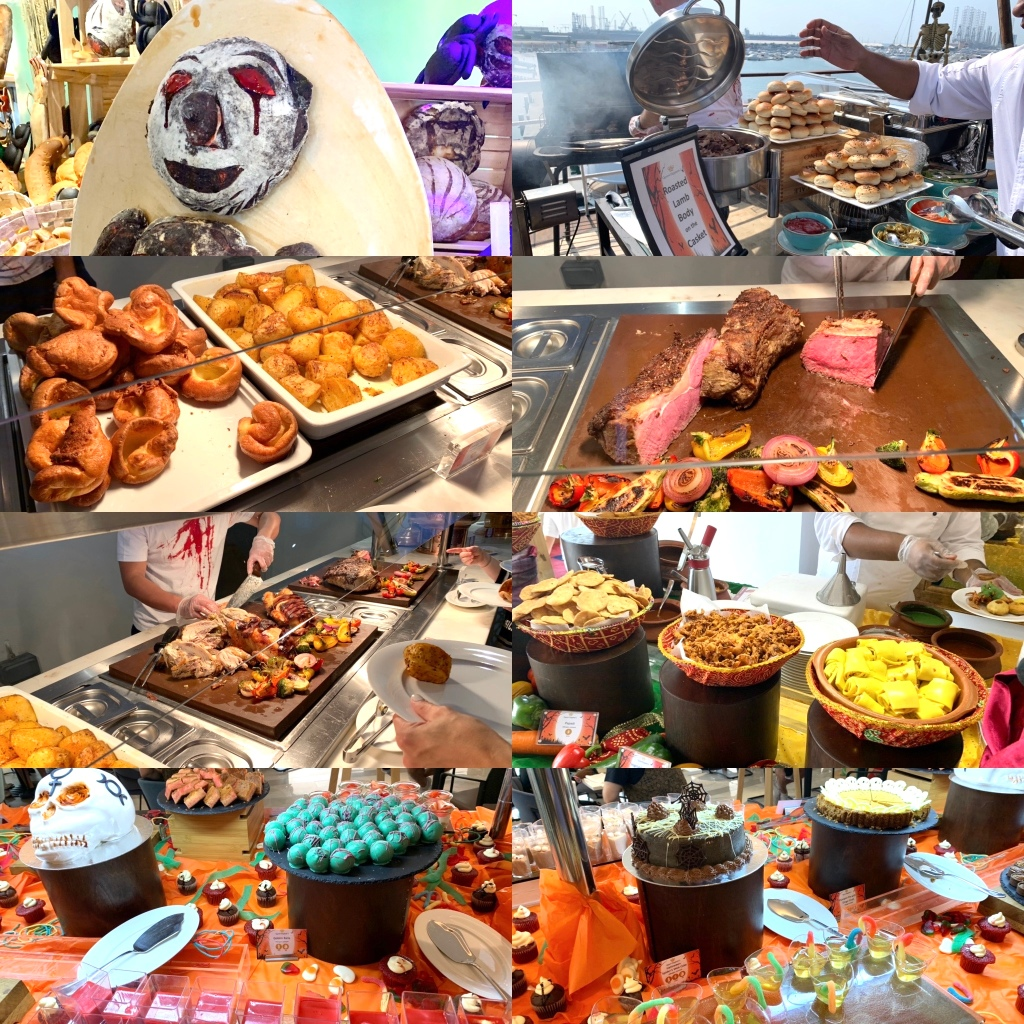 QE2 Halloween Brunch
